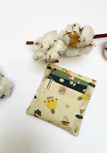 pochette pour mouchoirs en tissu bio ernest et lulu