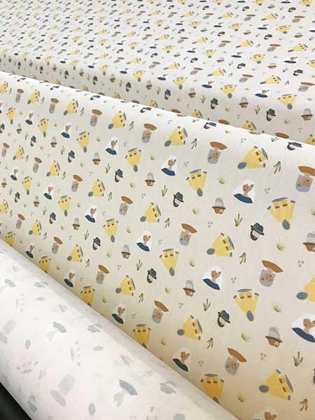 ernest et lulu - mouchoirs imprimés en tissu bio - coton - homme - made in france