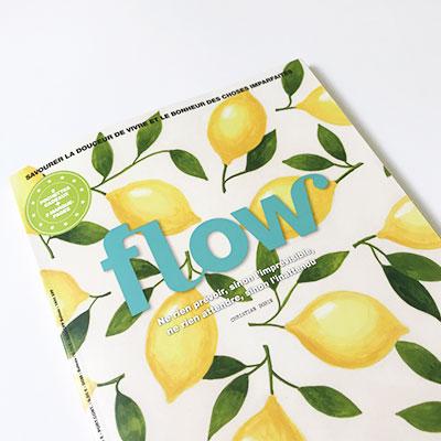 mouchoirs ernest&lulu en tissu bio flow magazine