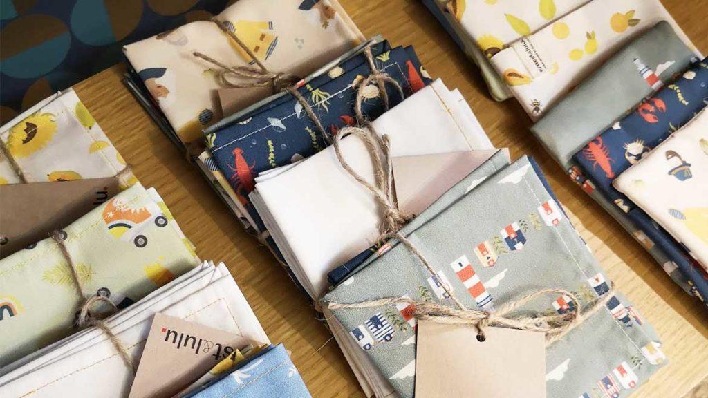 Mouchoirs en tissu femme - magasin Lucette - Le Mans